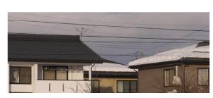 雪落ち比較