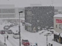 豪雪の日本